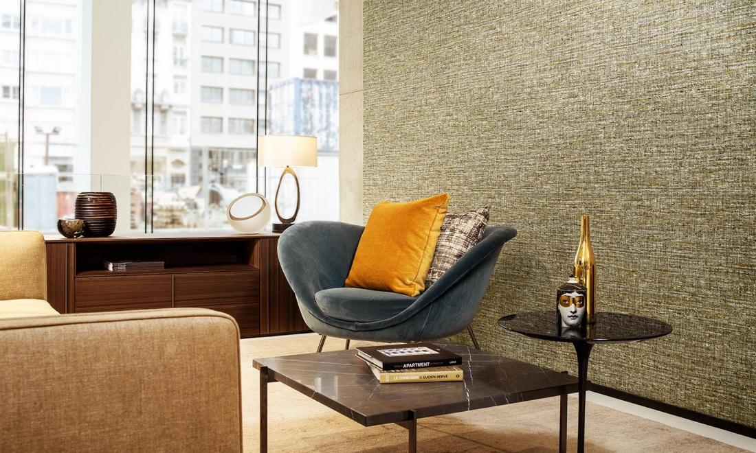 Interieur en lifestyle trend warm behang