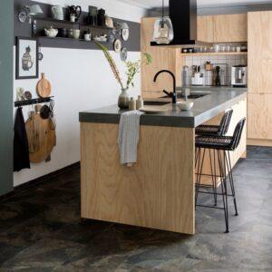 vinyl vloer in de keuken