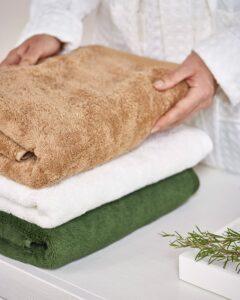 Badkamertextiel bij Van De Velde Home
